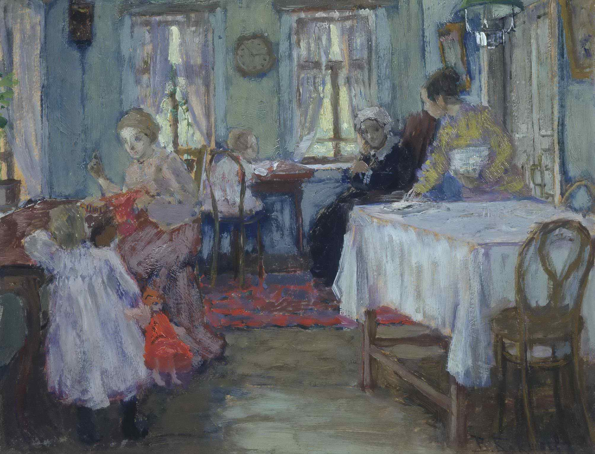 Бакшеев В.Н. - В семье