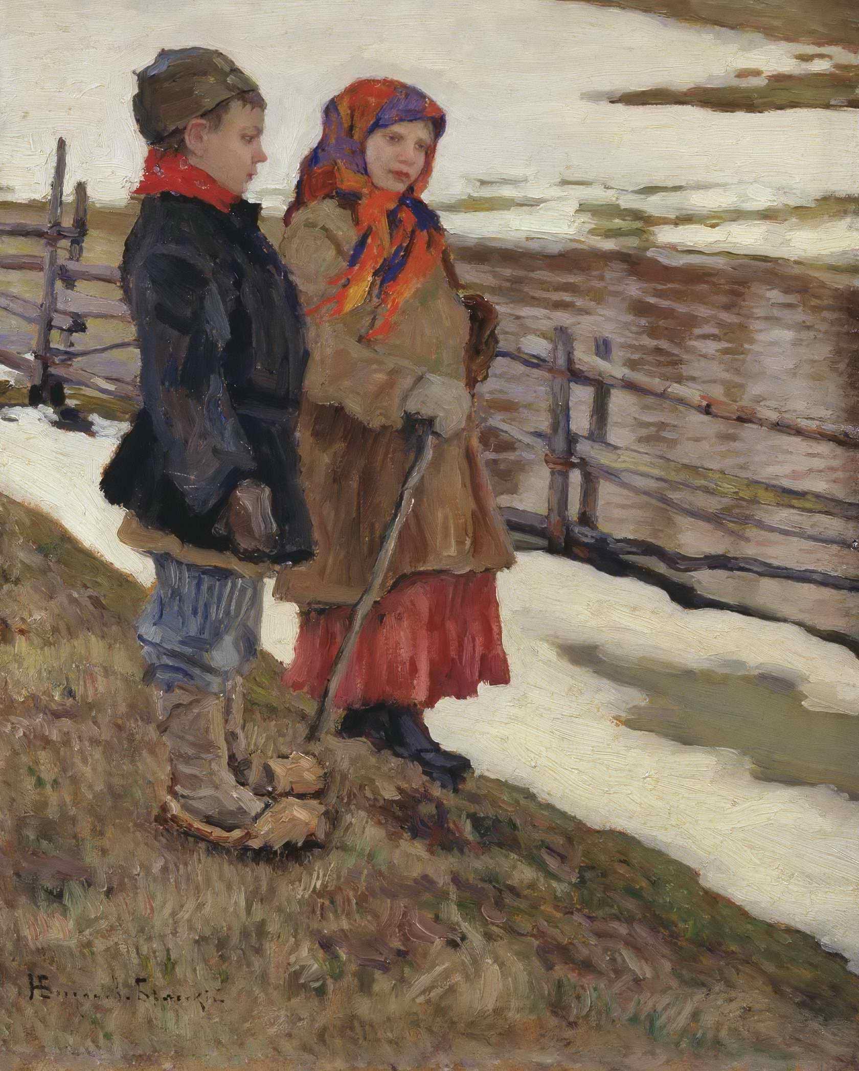 Богданов-Бельский Н.П.- Крестьянские дети