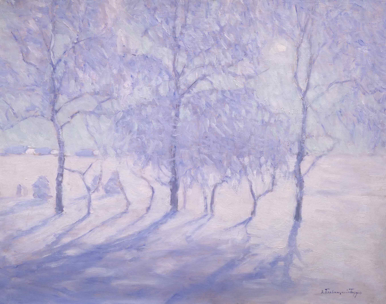 Бялыницкий-Бируля В.К. - Зимний пейзаж