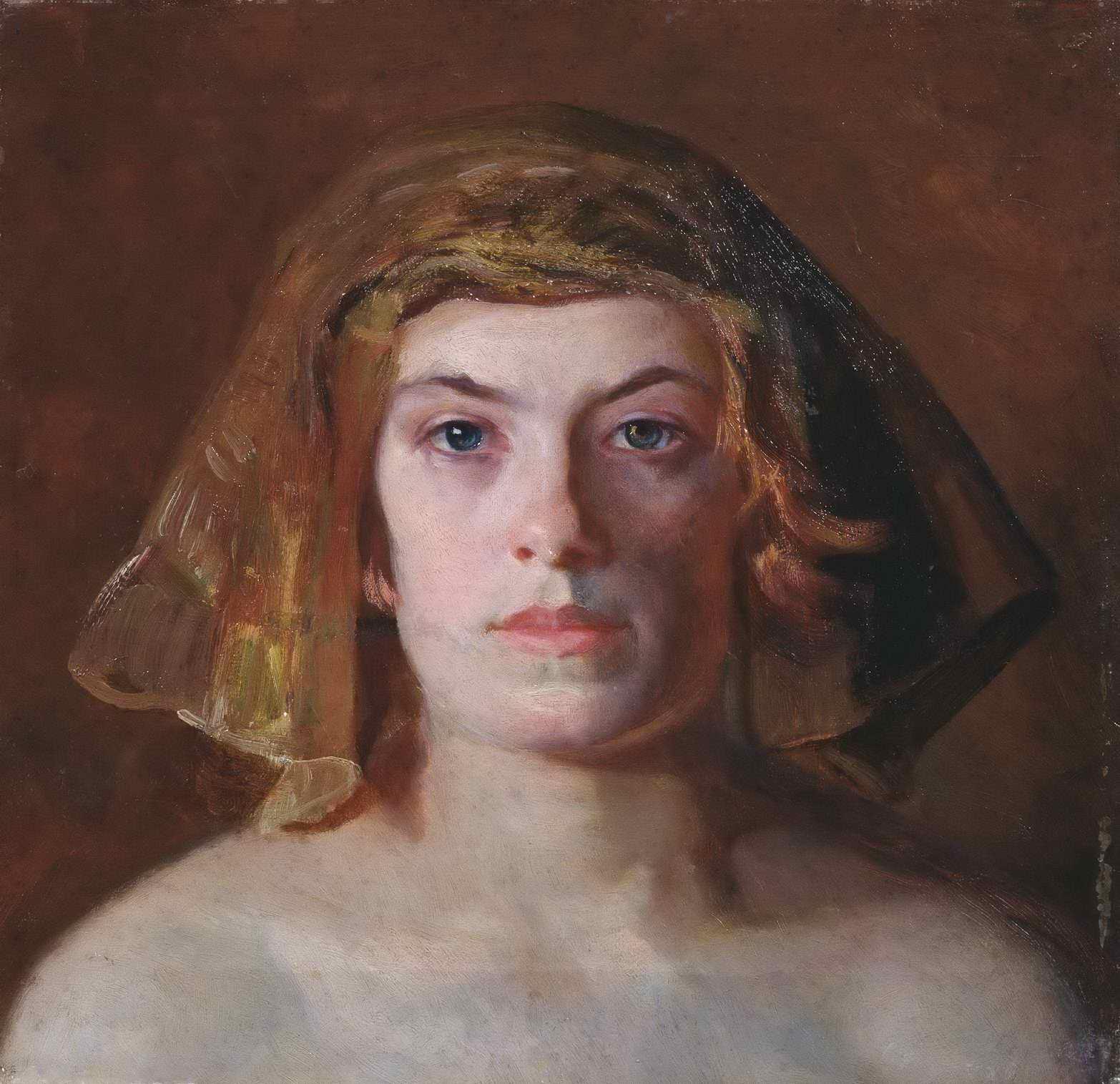 Касаткин Н.А. - Женская голова