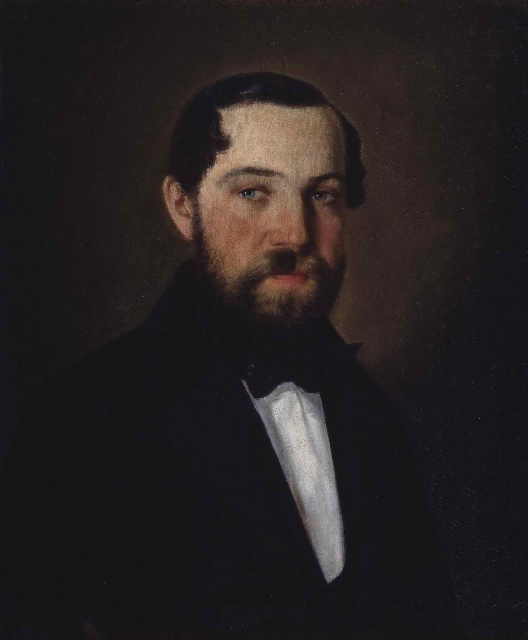 Неизвестный художник - Мужской портрет (Расторгуев Я.И. ?)