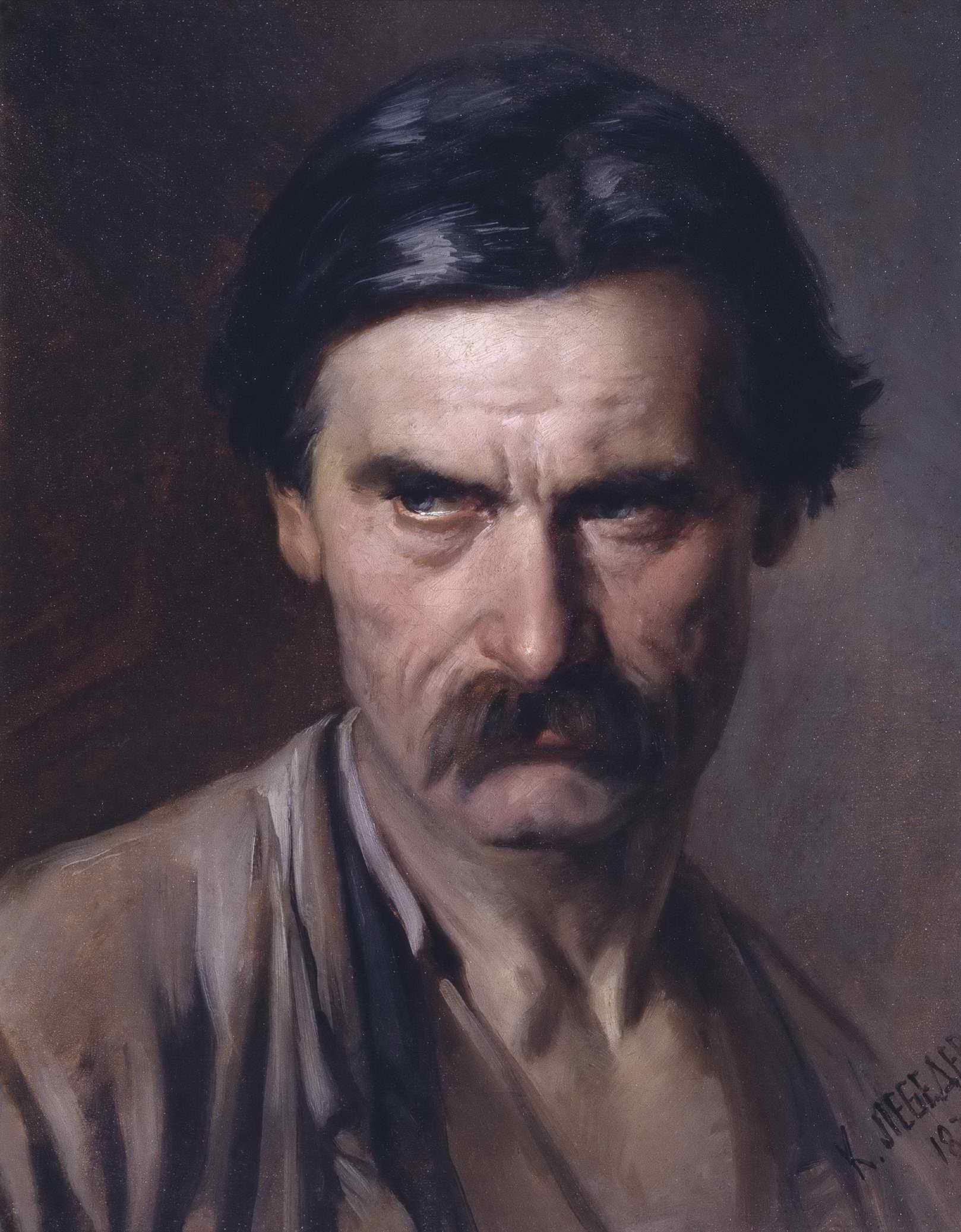 Лебедев К.В. - Портрет рабочего