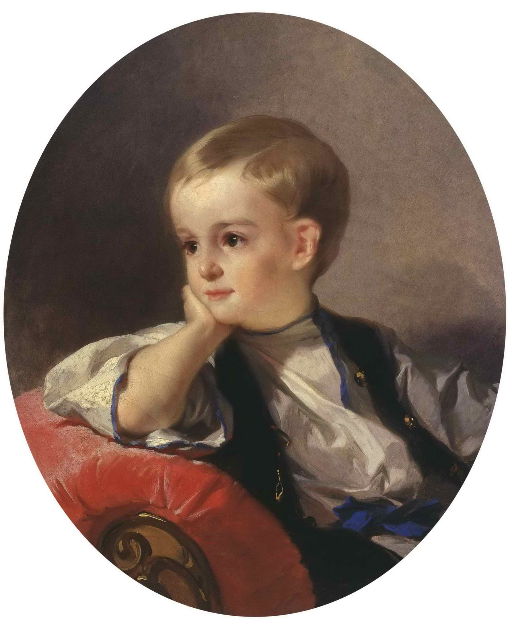 Неизвестный художник (Макаров И.К. ?) - Портрет графа Бобринского ребенком