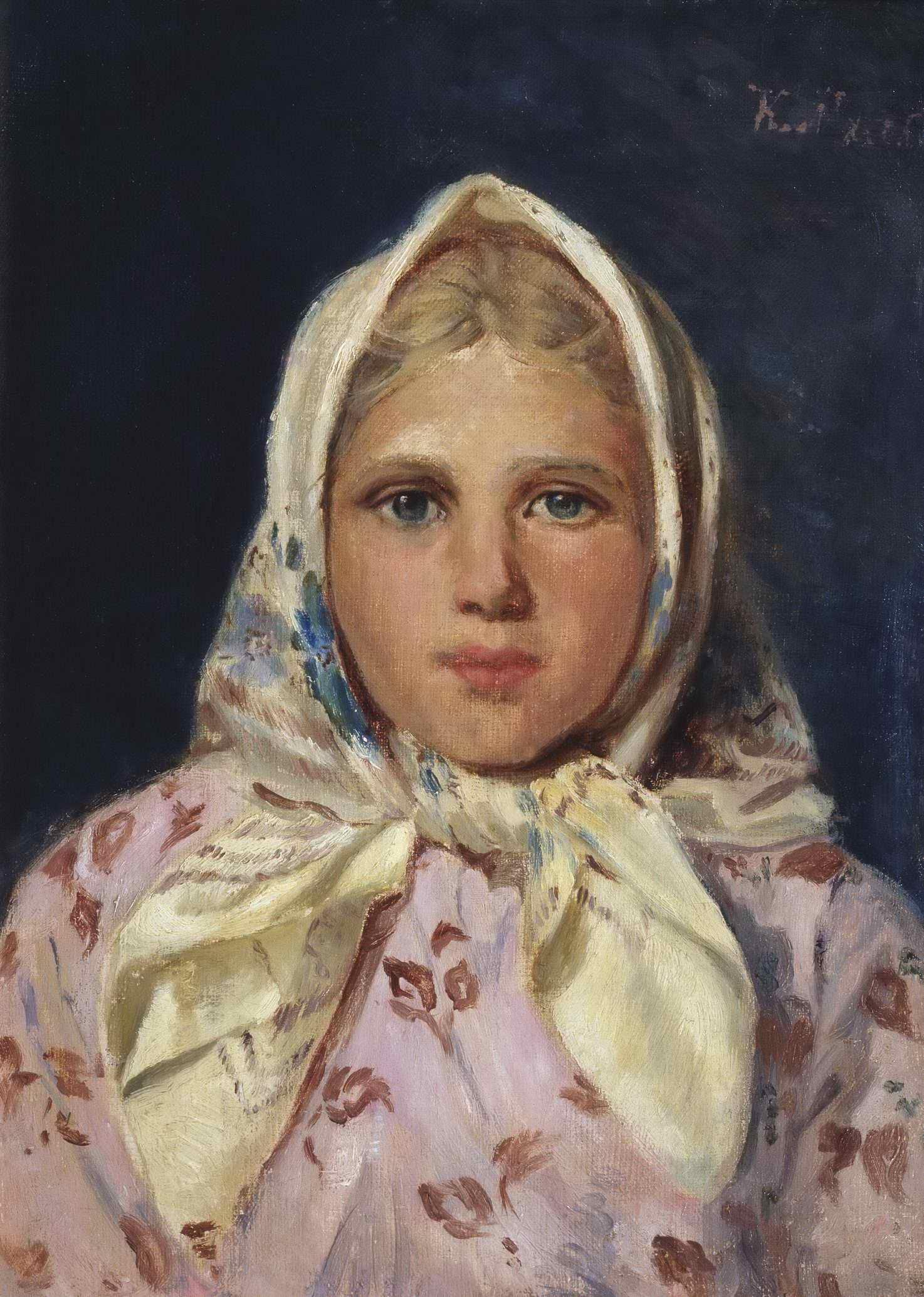 Маковский К.Е. - Портрет девочки