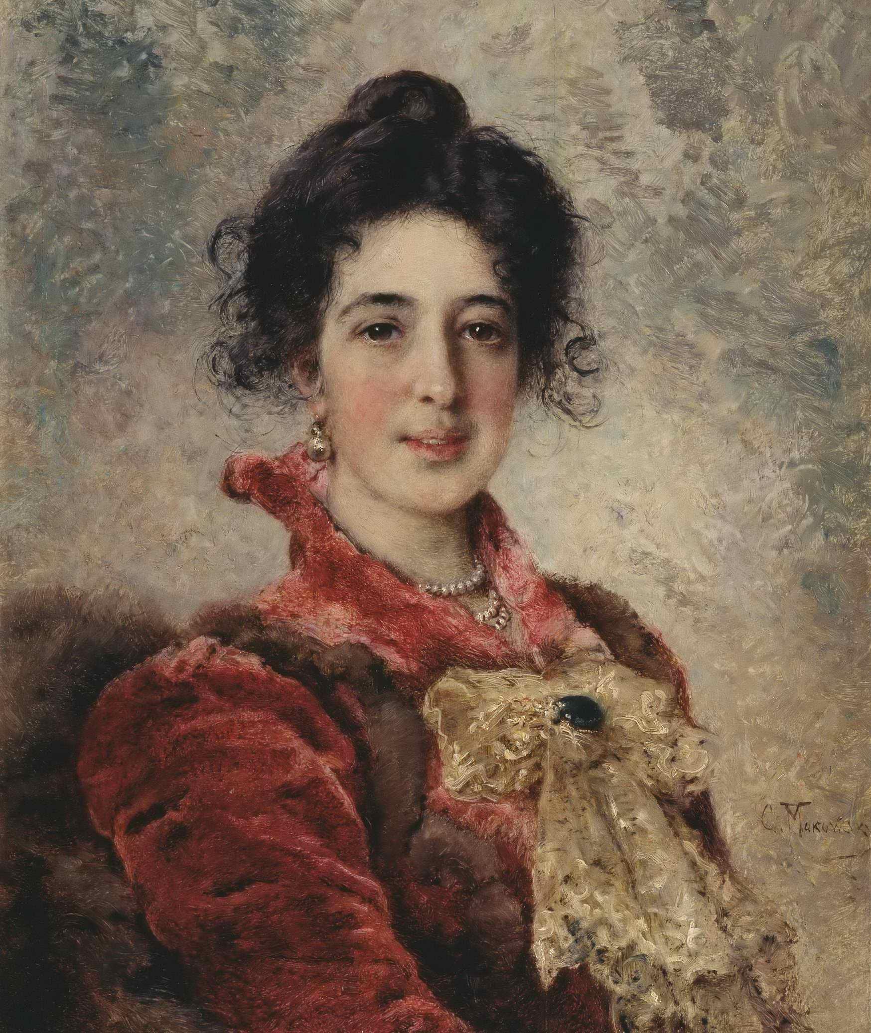 Маковский К.Е. - Женский портрет