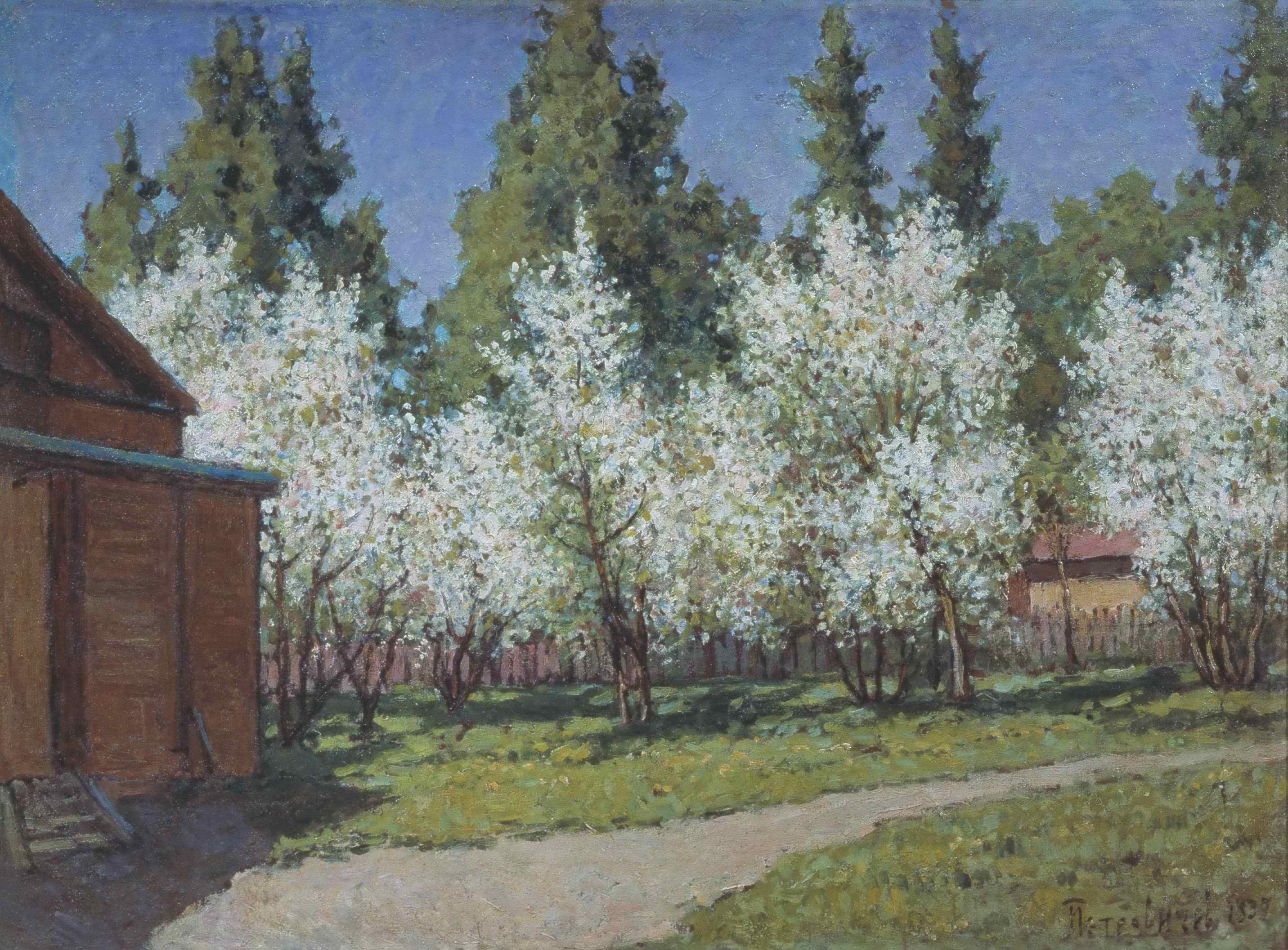 Петровичев П.И. - Цветущий сад