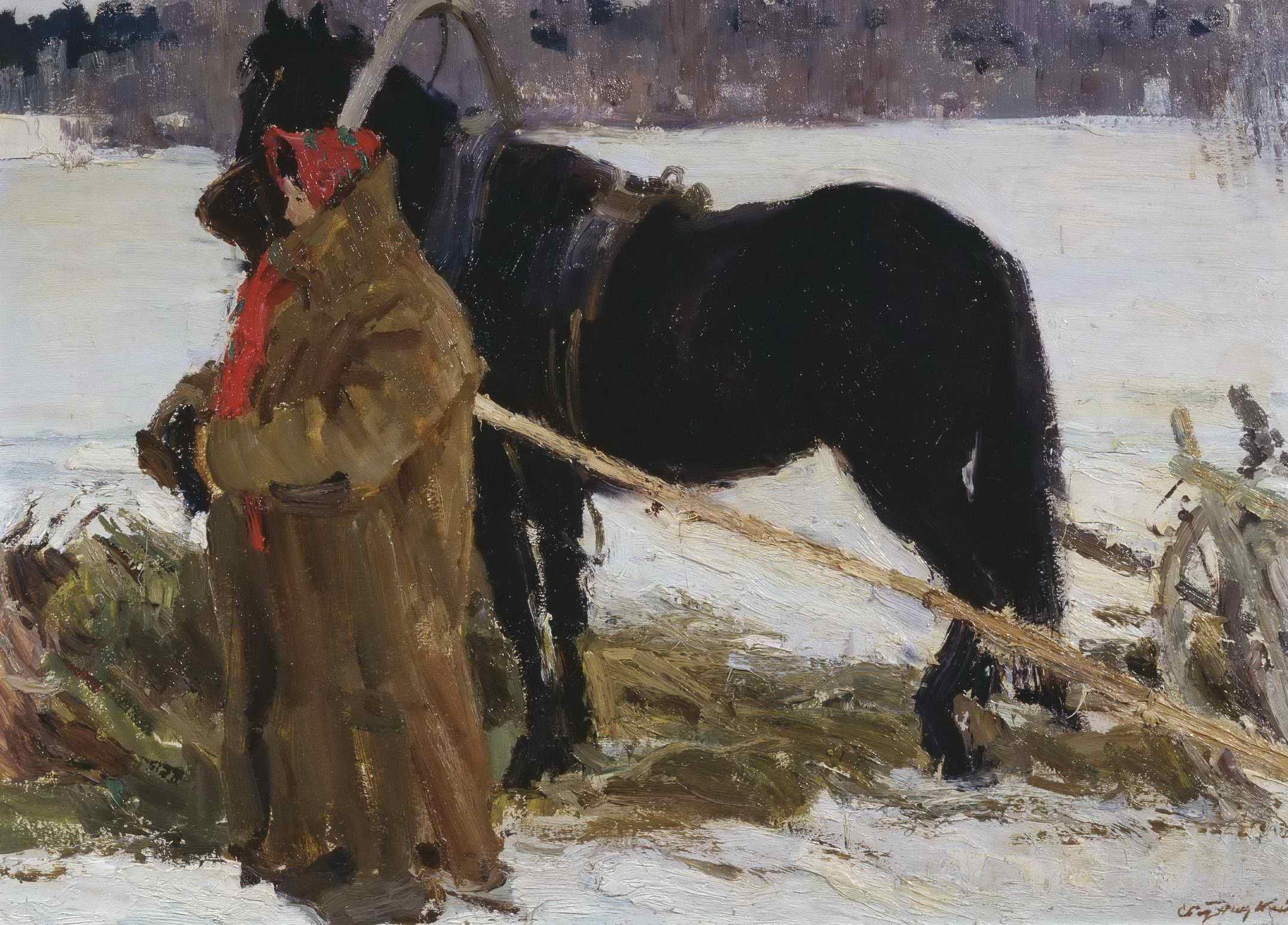 Ротницкий С.А. - Баба с лошадью