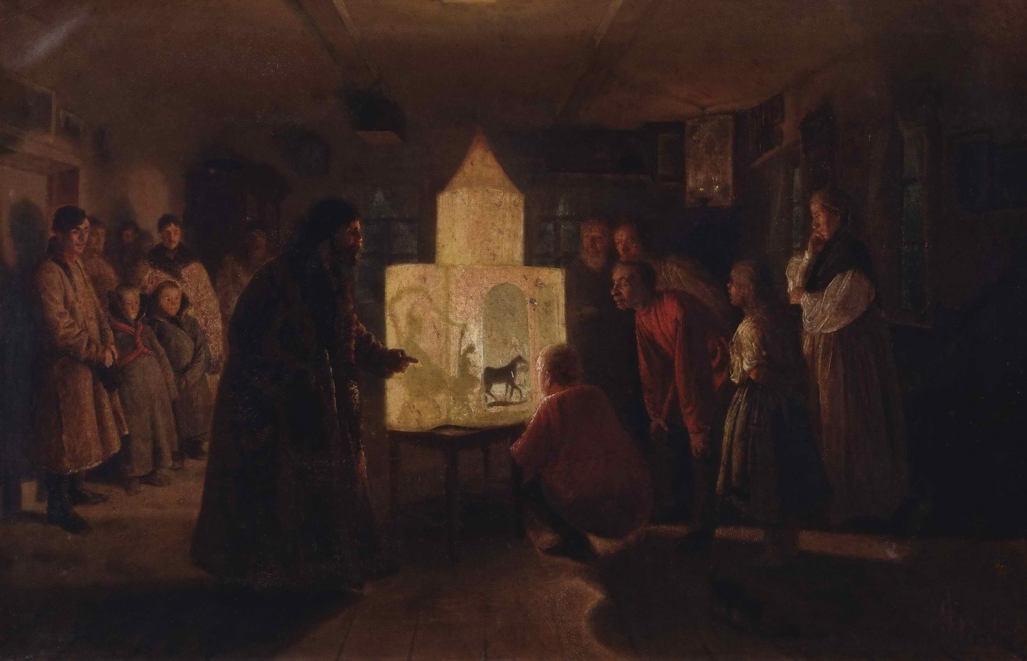 Соловьев Л.Г. - Волшебный фонарь в крестьянской семье