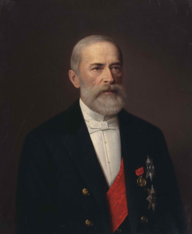 Тюрин И.А. - Портрет Николая Христиановича Бунге