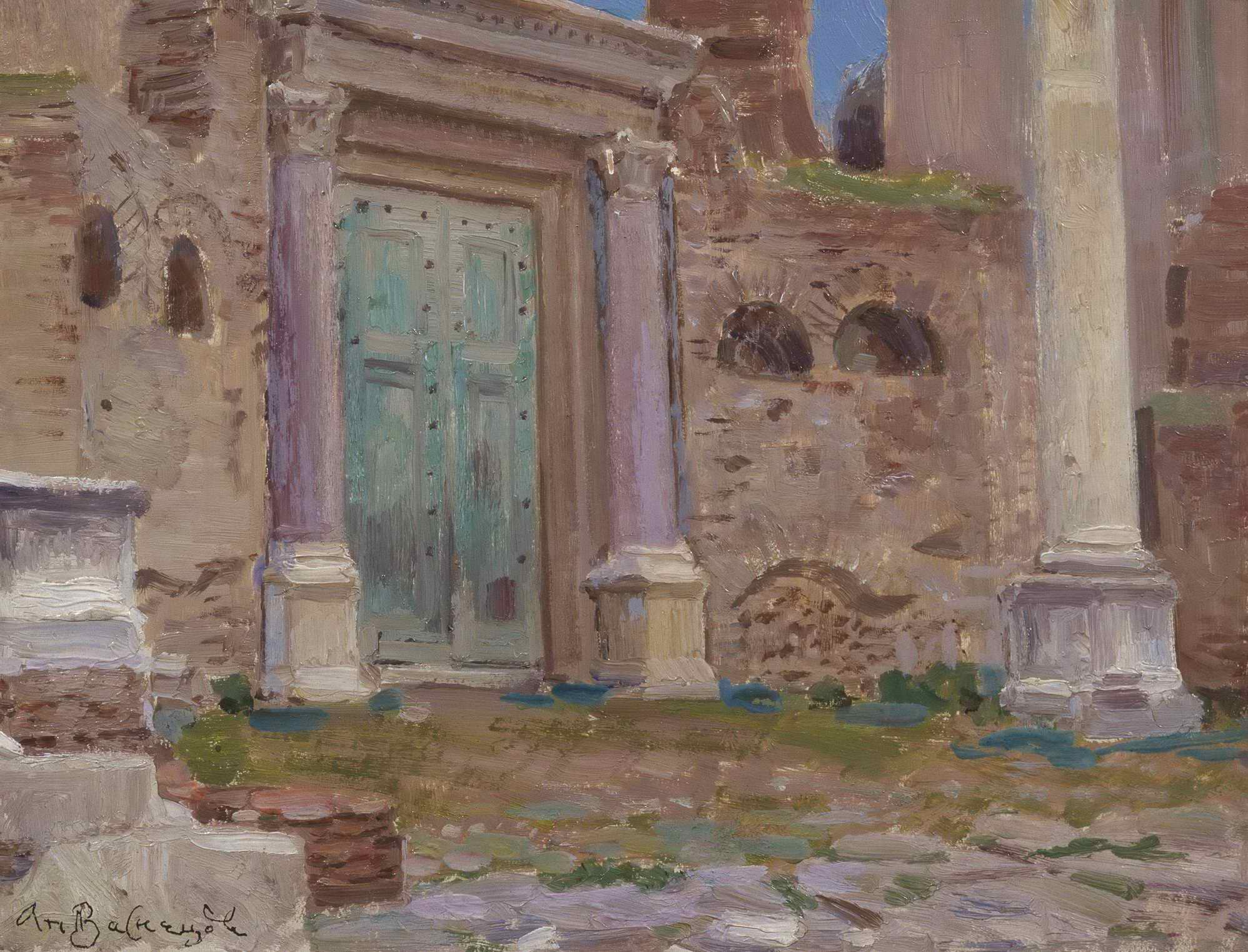 Васнецов А.М. - Двери в храм Януса