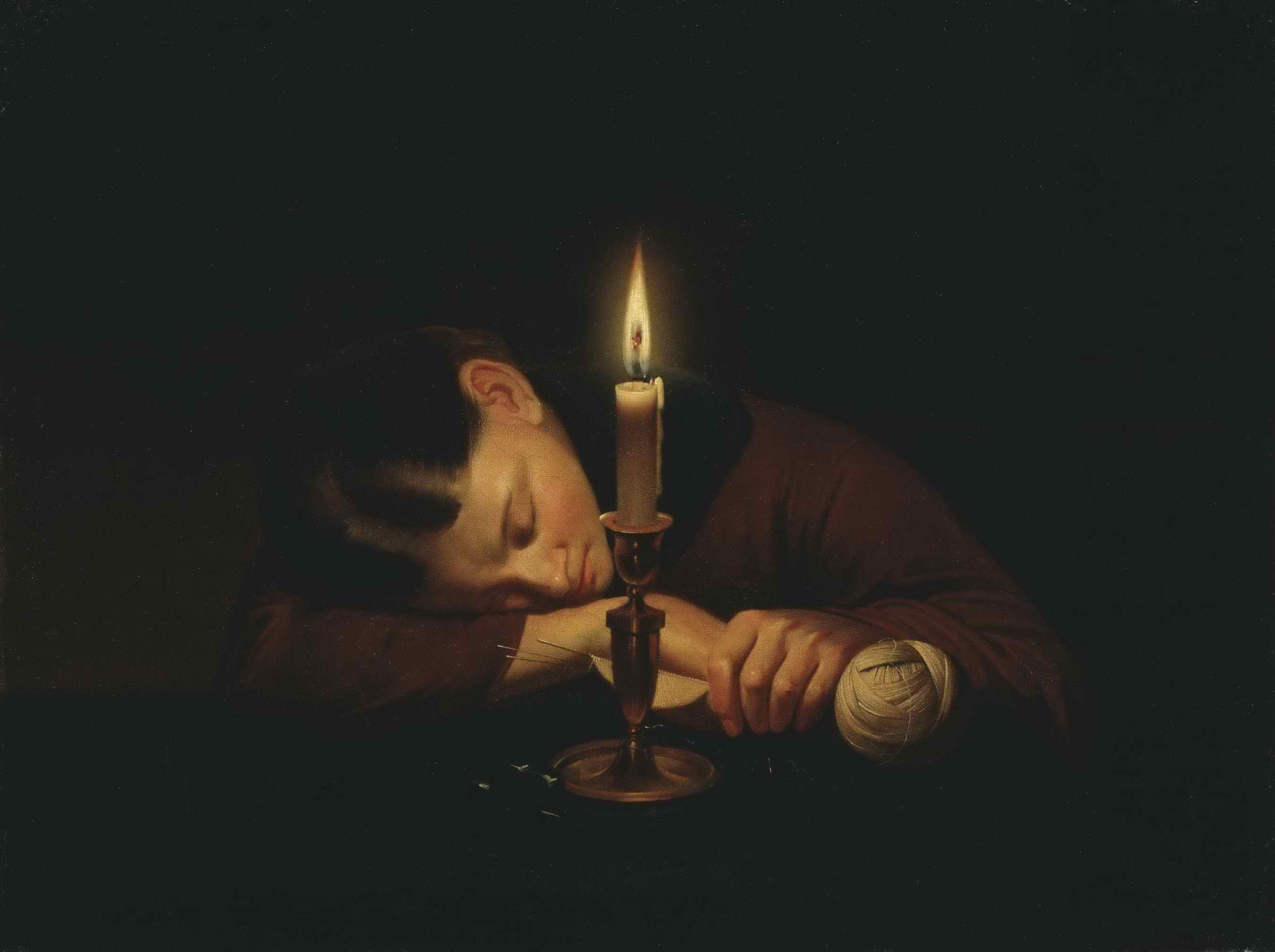 Заболотский П.П. - Уснула