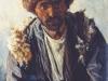 Бакинец. 1886. Этюд. Картон, масло. 23,5х16