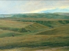 Кисловодск.Балки. 1892. Этюд.Дерево, масло 24х36