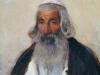 Старик- еврей. 1896. Этюд. Картон,масло. 40х32