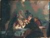 Иуда. Эскиз. 1897(?). картон,масло. 31х40,7