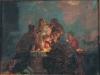 Иуда. Эскиз..1897(?). Картон,масло. 32х41
