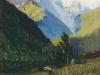 Гора Ужба в Сванетии