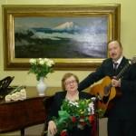 Нина Сергеевна и Александр Елдышев