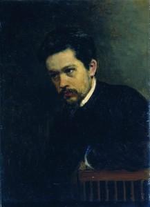 Автопортрет художника Ярошенко 1895г. ГРМ