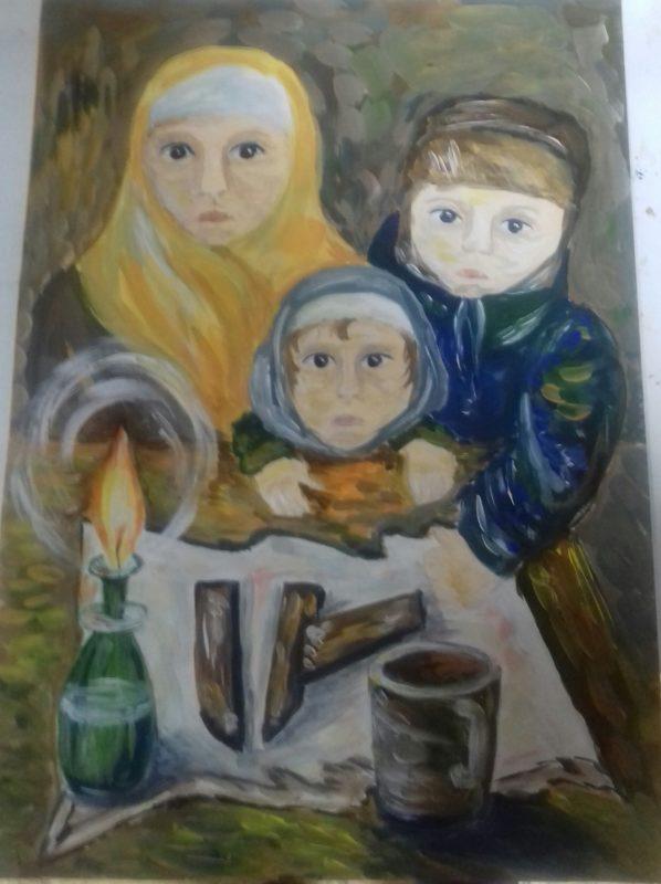 Дети войны Мирошник Анастасия Православная Свято-Никольская гимназия 5 класс 11 лет