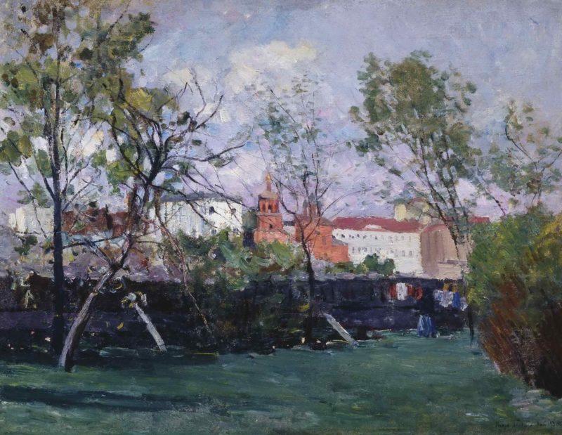 Окраина Москвы