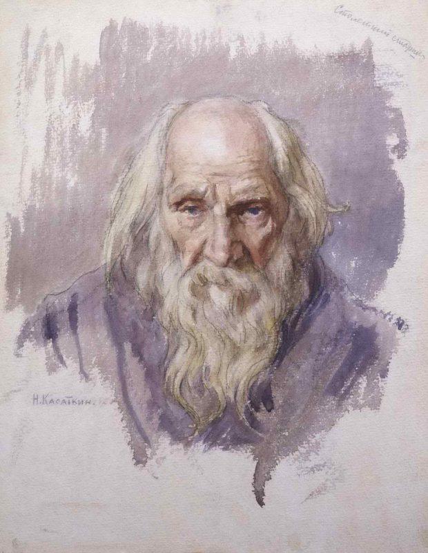 Столетний старик