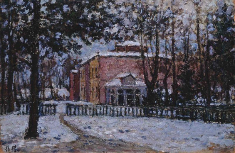Усадьба поэта Ф.Н. Тютчева в Мураново