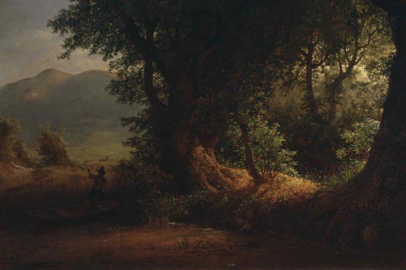 Вид на Понтийских болотах