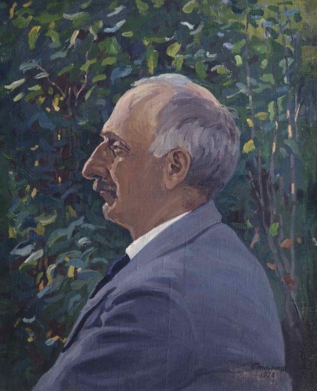 Портрет профессора Московского Университета Г.В. Челпанова
