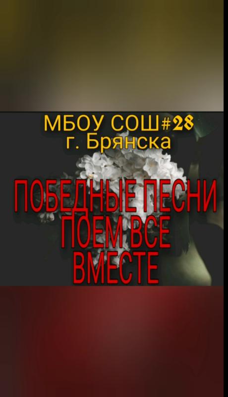 СОШ №28 города Брянска