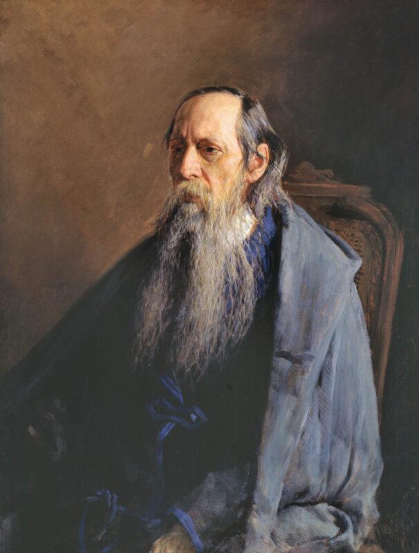 Портрет М.Е. Салтыкова-Щедрина